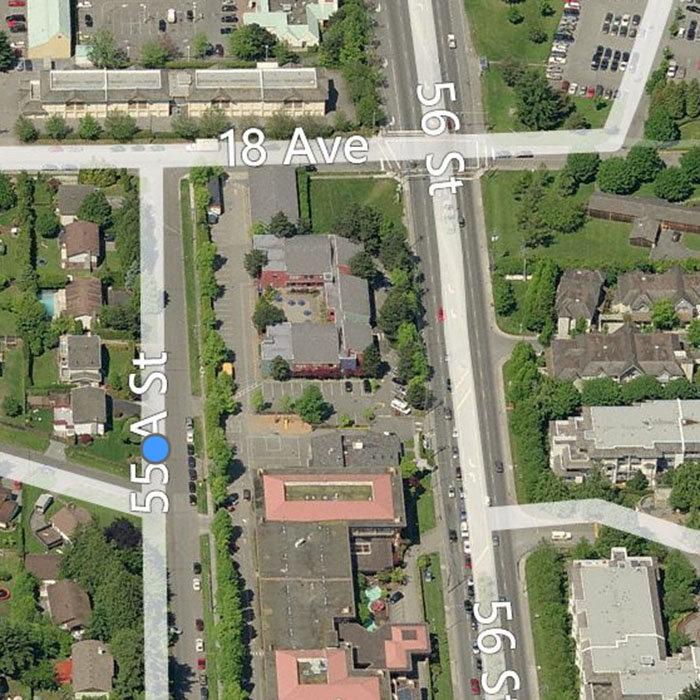 1708 55A Street, Tsawwassen, BC V4M 3M9, Canada Birds Eye!