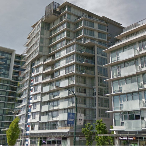 Pinnacle Living False Creek Vancouver BC, Exterior!
