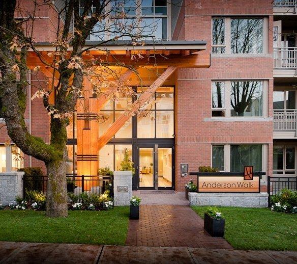 Anderson Walk - Building Exterior!
