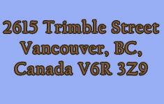 2615 Trimble 2615 Trimble V6R 3Z9