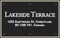 Lakeside Terrace 1200 EASTWOOD V3B 7R9