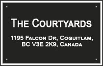 The Courtyards 1195 FALCON V3E 2H1