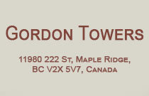 Gordon Towers 11980 222ND V2X 0L8