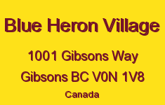 Blue Heron Village 1001 GIBSONS V0N 1V8