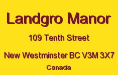 Landgro Manor 109 TENTH V3M 3X7