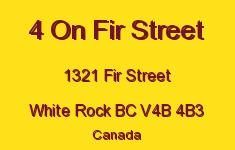 4 On Fir Street 1321 FIR V4B 4B3