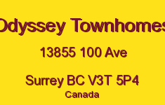 Odyssey Townhomes 13855 100 V3T 5P4