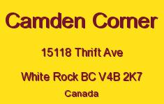Camden Corner 15118 THRIFT V4B 2K7