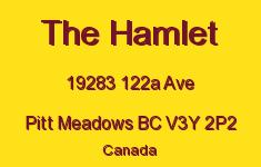 The Hamlet 19283 122A V3Y 2P2