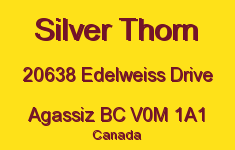 Silver Thorn 20638 EDELWEISS V0M 1A1