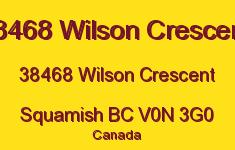 38468 Wilson Crescent 38468 WILSON V0N 3G0