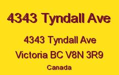 4343 Tyndall Ave 4343 Tyndall V8N 3R9