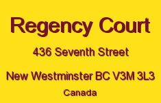 Regency Court 436 SEVENTH V3M 3L3