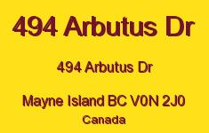494 Arbutus Dr 494 Arbutus V0N 2J0