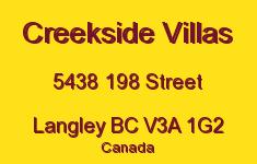 Creekside Villas 5438 198 V3A 1G2