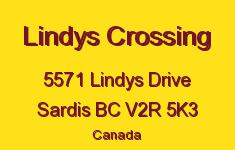Lindys Crossing 5571 LINDYS V2R 5K3