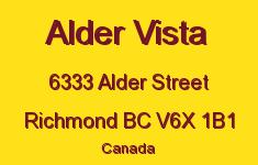 Alder Vista 6333 ALDER V6X 1B1