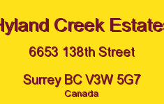 Hyland Creek Estates 6653 138TH V3W 5G7