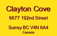 Clayton Cove 6677 192ND V4N 6A4