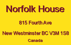 Norfolk House 815 FOURTH V3M 1S8