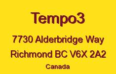 Tempo3 7730 Alderbridge V6X 2A2