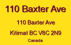 110 Baxter Ave 110 BAXTER V8C 2N9