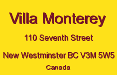 Villa Monterey 110 SEVENTH V3M 5W5