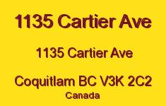 1135 Cartier Ave 1135 CARTIER V3K 2C2