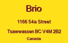 Brio 1166 54A V4M 2B2