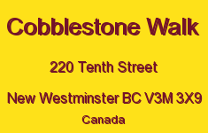 Cobblestone Walk 220 TENTH V3M 3X9