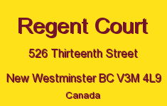 Regent Court 526 THIRTEENTH V3M 4L9