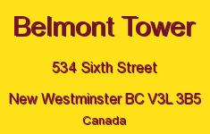 Belmont Tower 534 SIXTH V3L 3B5