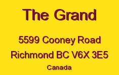 The Grand 5599 COONEY V6X 3E5