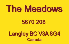 The Meadows 5670 208 V3A 8G4