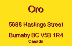 Oro 5688 HASTINGS V5B 1R4