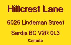 Hillcrest Lane 6026 LINDEMAN V2R 0L3
