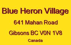 Blue Heron Village 641 MAHAN V0N 1V8