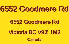 6552 Goodmere Rd 6552 Goodmere V9Z 1M2