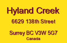 Hyland Creek 6629 138TH V3W 5G7