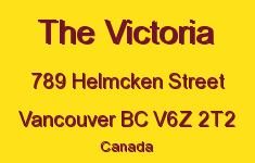 The Victoria 789 HELMCKEN V6Z 2T2