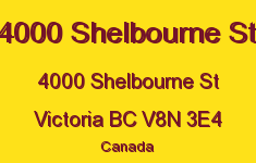 4000 Shelbourne St 4000 Shelbourne V8N 3E4