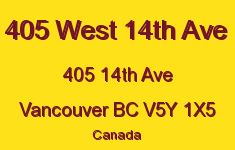 405 West 14th Ave 405 14TH V5Y 1X5