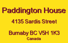 Paddington House 4135 SARDIS V5H 1K3
