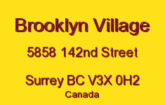 Brooklyn Village 5858 142ND V3X 0H2