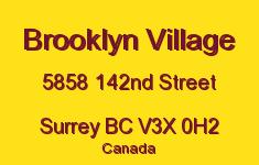 Brooklyn Village 5858 142ND V3X 0H2