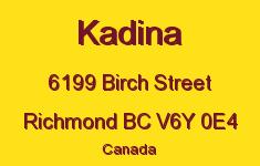 Kadina 6199 BIRCH V6Y 0E4