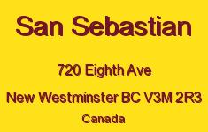 San Sebastian 720 EIGHTH V3M 2R3