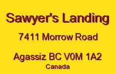 Sawyer's Landing 7411 MORROW V0M 1A2