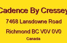 Cadence By Cressey 7468 LANSDOWNE V0V 0V0