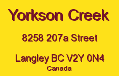 Yorkson Creek 8258 207A V2Y 0N4